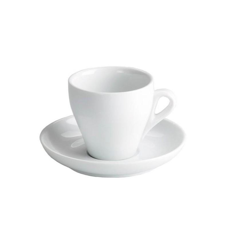 TAZA CAFE ROMA 7,5 CL.C/ PLATO ø12X2 CM.