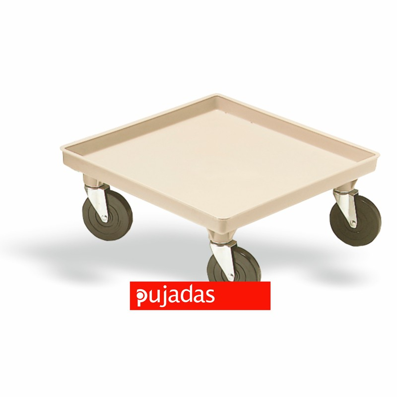 Carro sin asas para cestas