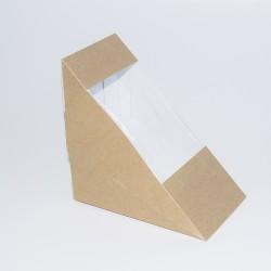 Sándwich triangular Kraft...