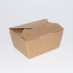 Recipiente de cartón Kraft...