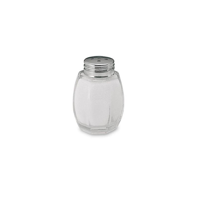 Salero Cristal Tapa Inox          48u/c