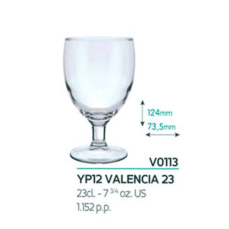 Copa Valencia 23cl Tensionado