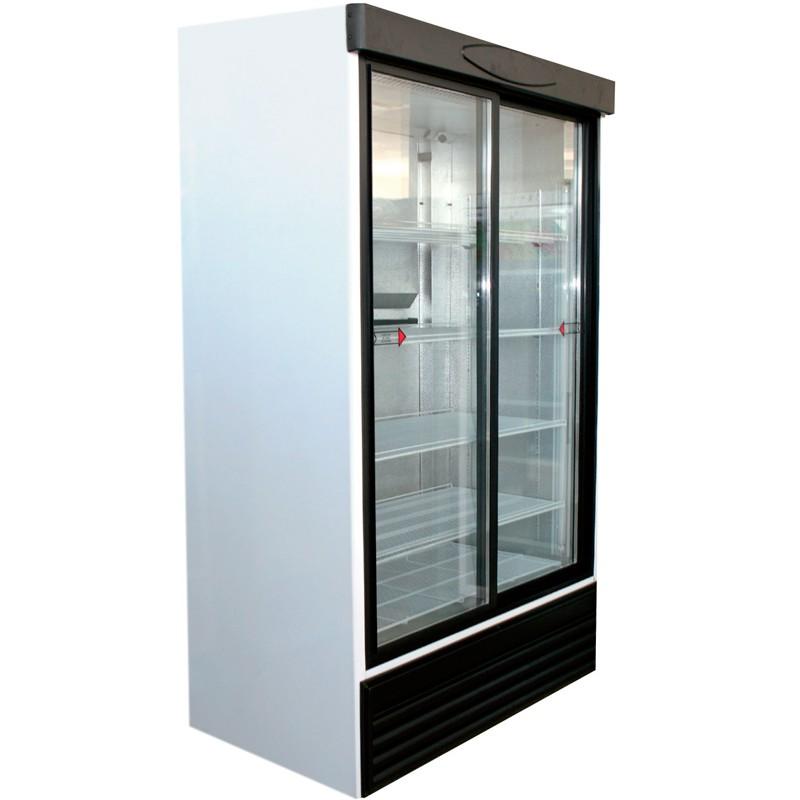 Vitrina expositora de refrigeración 895L 10kwh/24h
