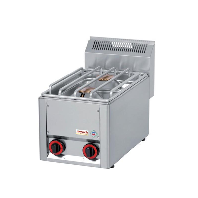 Cocinas serie 600/ cocinas a gas 2 quemadores 9KW 16kg 330x600x290