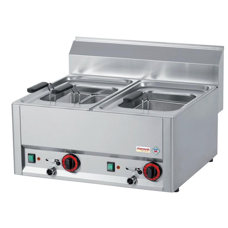 Cocinas serie 600 cuece pastas eléctricos 6kw 15kg