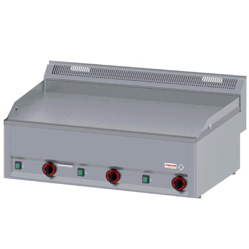 Cocinas serie 600 fry-top a gas 990x600x290 12kw 68kg