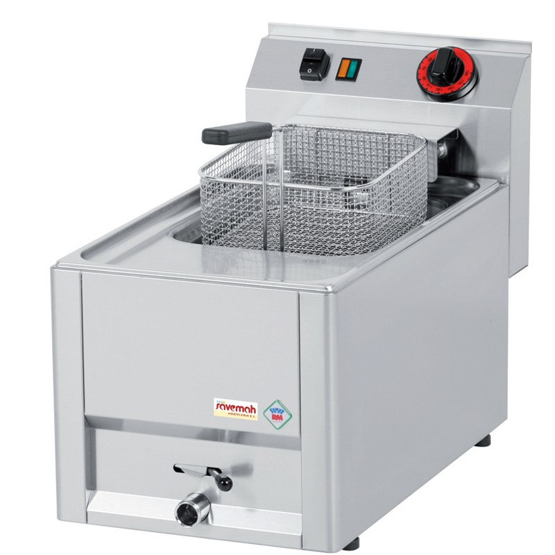 Cocinas serie 600 freidoras eléctricas de apoyo 330x600x290 6kw 10kg