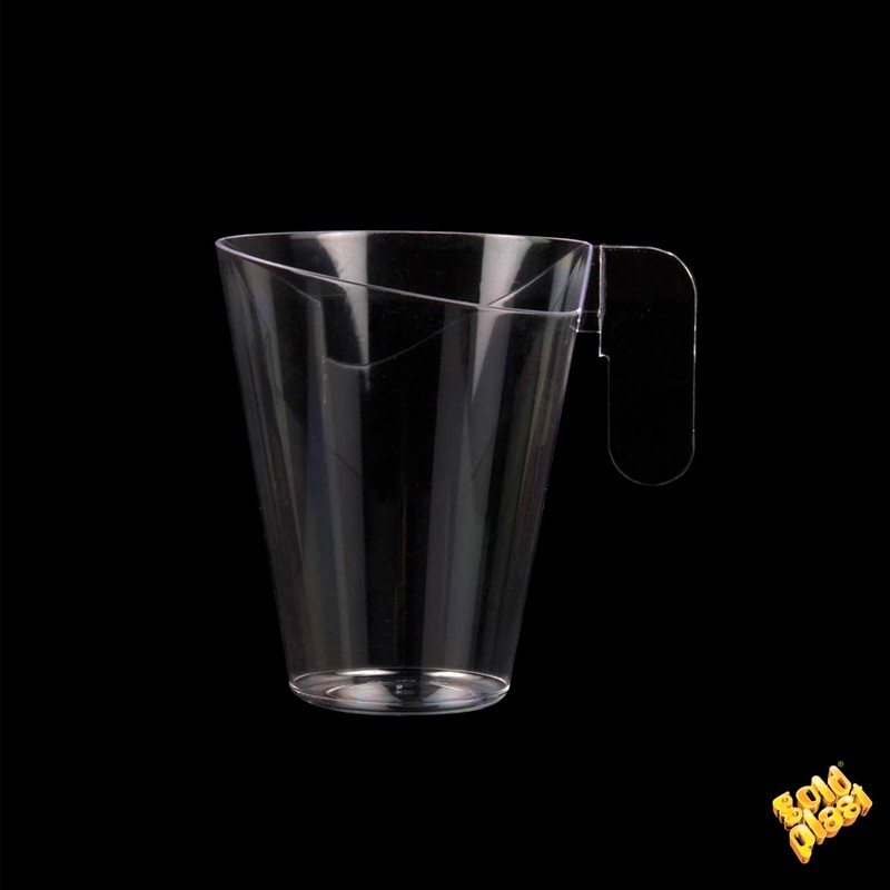 "SET DE 12   TAZA DESING CUP"" PS TRANSPAR         12u/c"""