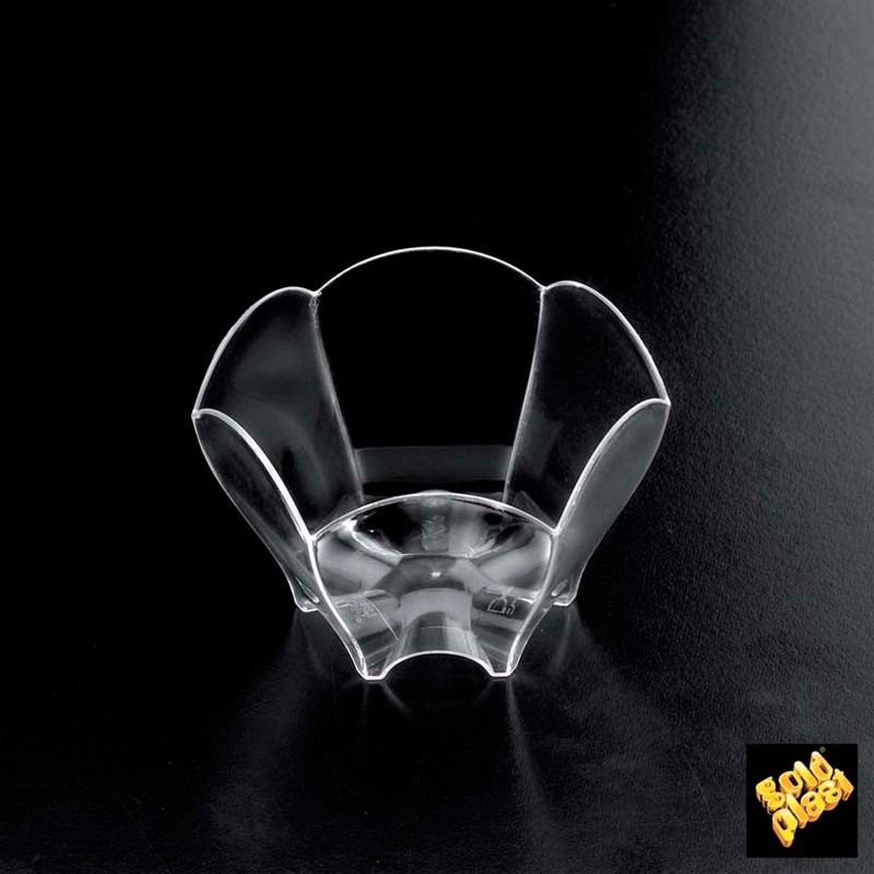SET DE 25  BOWL TULIP PS TRANSPARENTE           20u/c""""