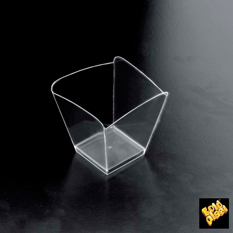 SET DE 25  BOWL ONDA PS TRANSPARENTE            20u/c""""