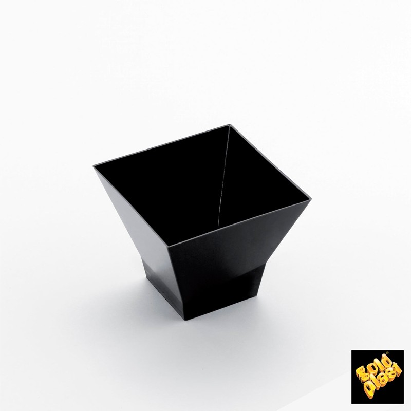 "SET DE 25  BOWL PAGODA 90 cc"" PS NEGRO           20u/c"""