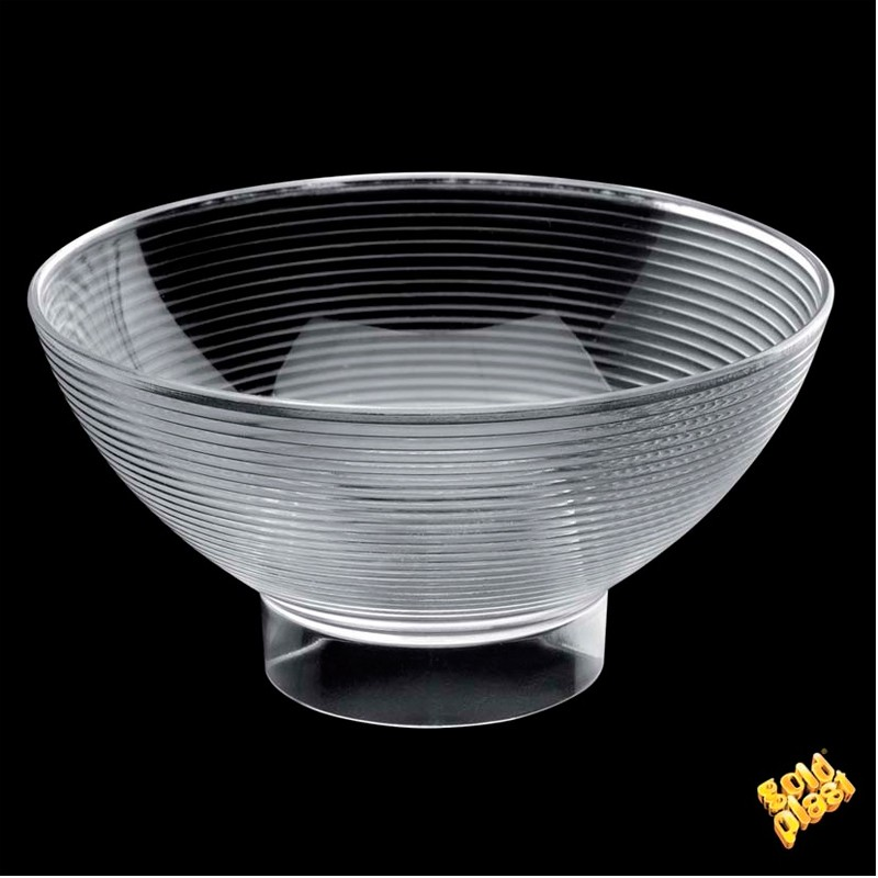 "SET DE 6  BOWL MEDIUM BOWL"" PS TRANSPAR          14u/c"""