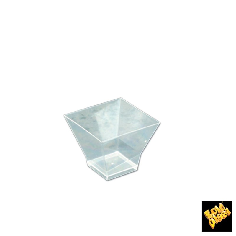 SET DE 25  BOWL PAGODA 60 cc PS TRANSP          20u/c""""