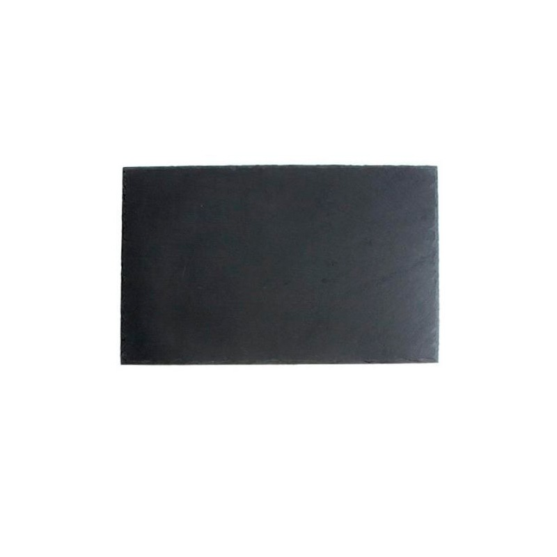 BANDEJA PIZARRA 20x13x0,5cm SOFT-AFRICA           24u/c