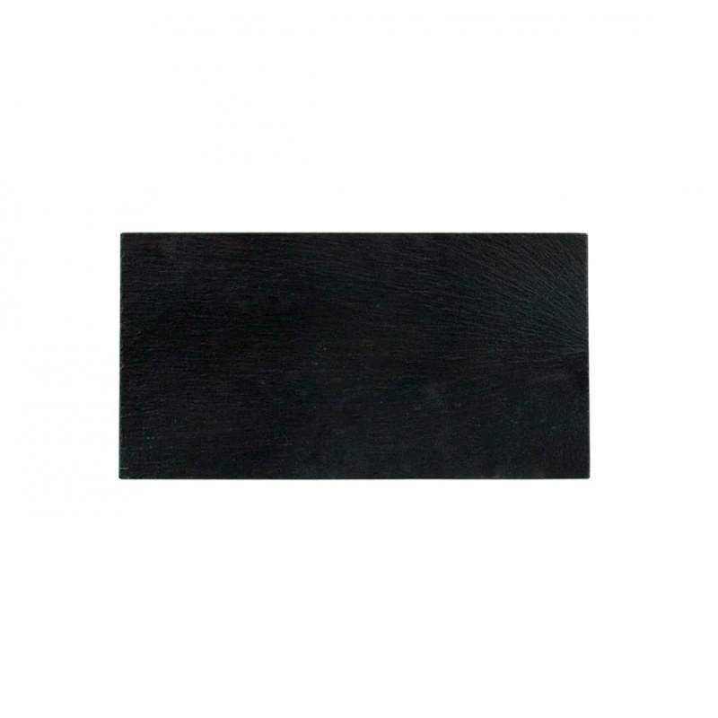 BANDEJA PIZARRA 25x13x0,6cm _AFRICA               24u/c