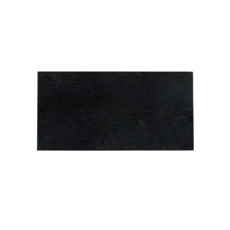BANDEJA PIZARRA 30x13x0,6cm _AFRICA               12u/c