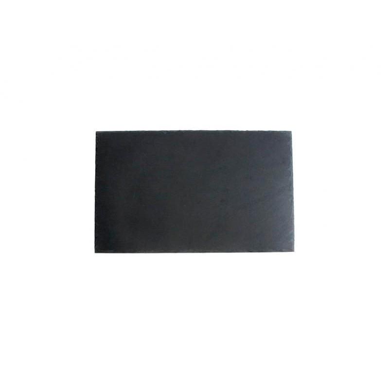 BANDEJA PIZARRA 30x20x0,5cm SOFT-AFRICA           12u/c