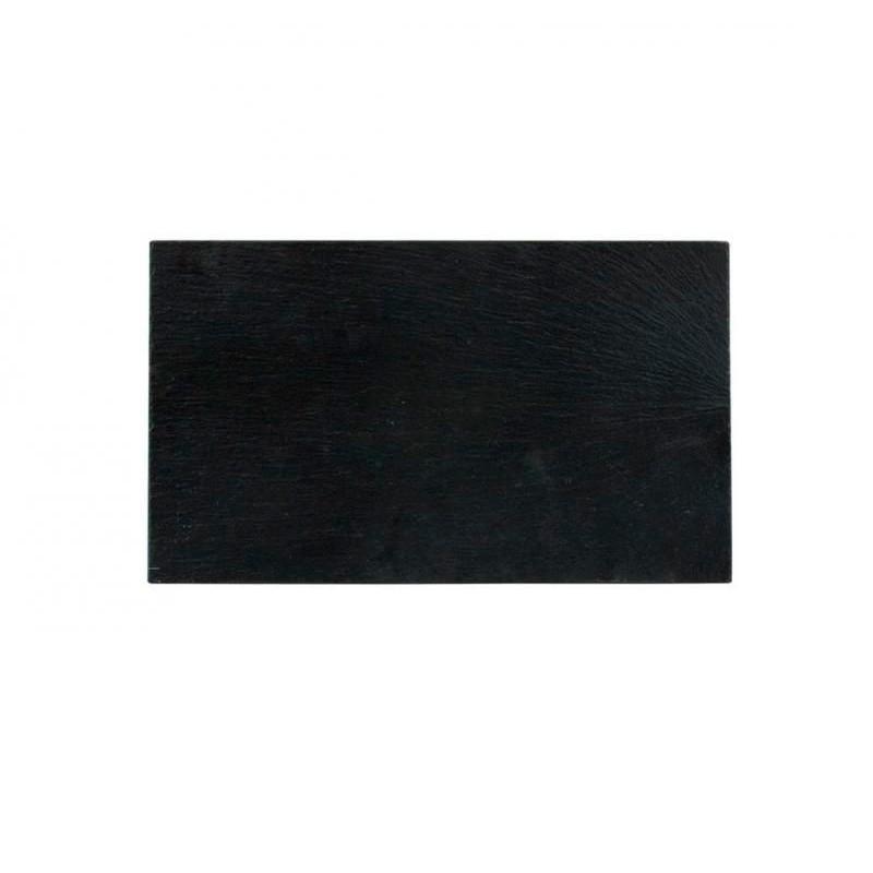 BANDEJA PIZARRA 30x20x0,6cm _AFRICA               12u/c