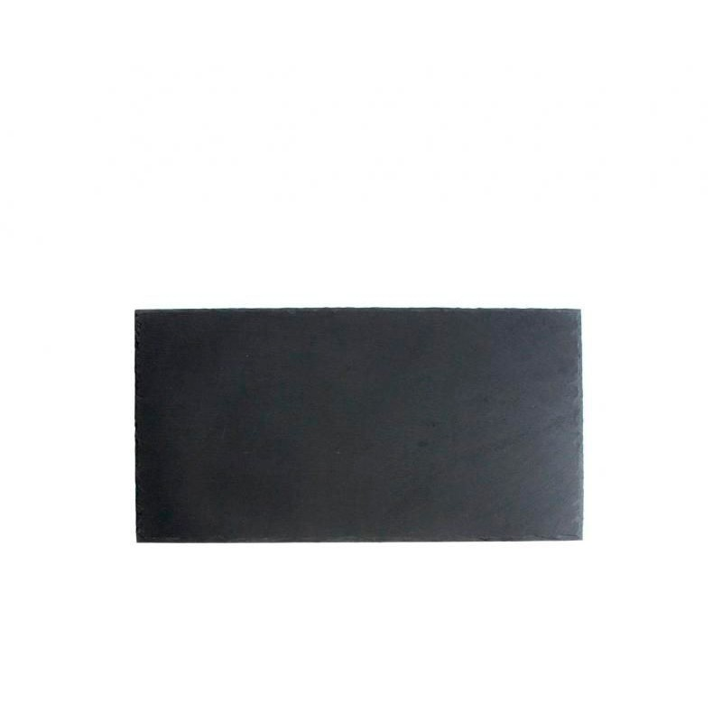 BANDEJA PIZARRA 37x18x0,5cm SOFT-AFRICA           12u/c