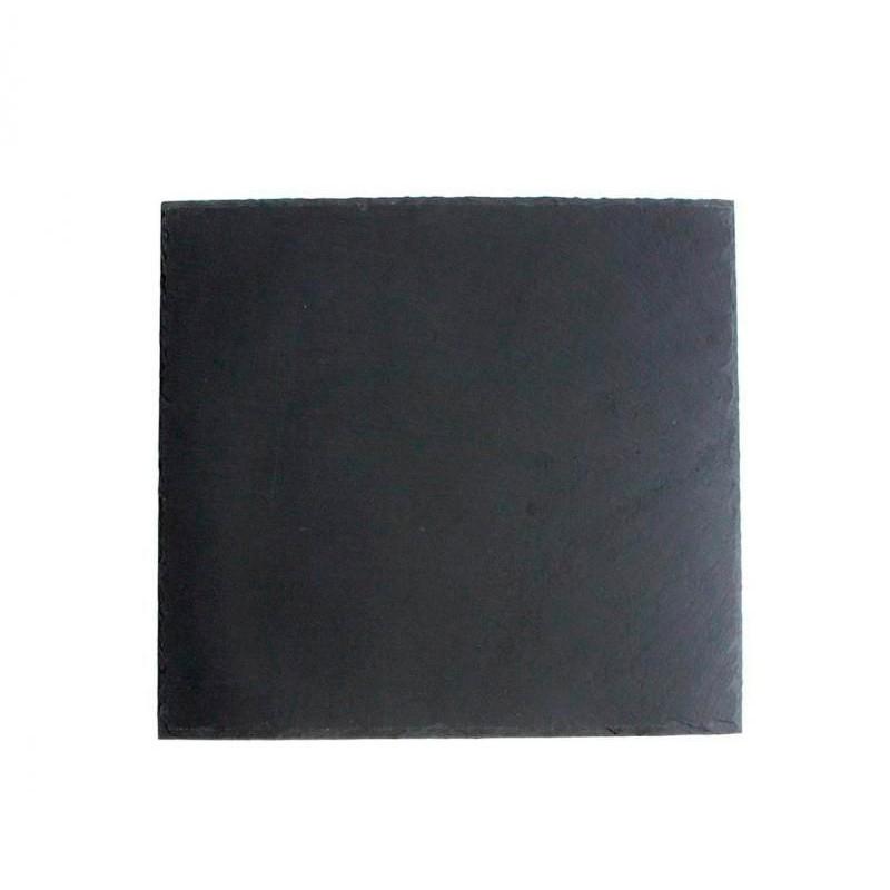 PLATO PIZARRA 18x18x0,5cm SOFT-AFRICA             12u/c