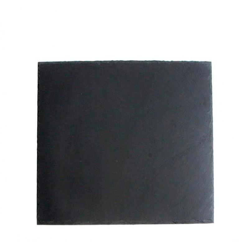 PLATO PIZARRA 22x22x0,5cm SOFT-AFRICA             12u/c
