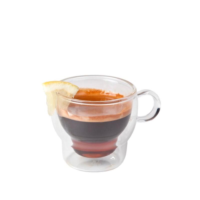 TAZA CAFÉ BOROSILICATO 12cl. ø7x6,5cm URANUS       24u/c