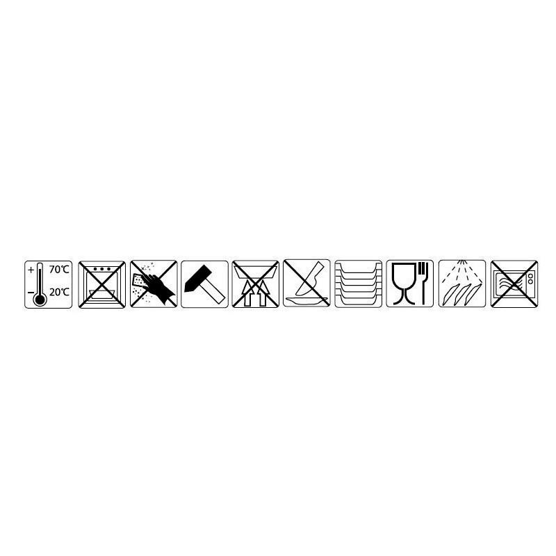 "BOWL PERPIGNAN"" 12x10x6cm NEGRO-BLANCO           24u/c"""