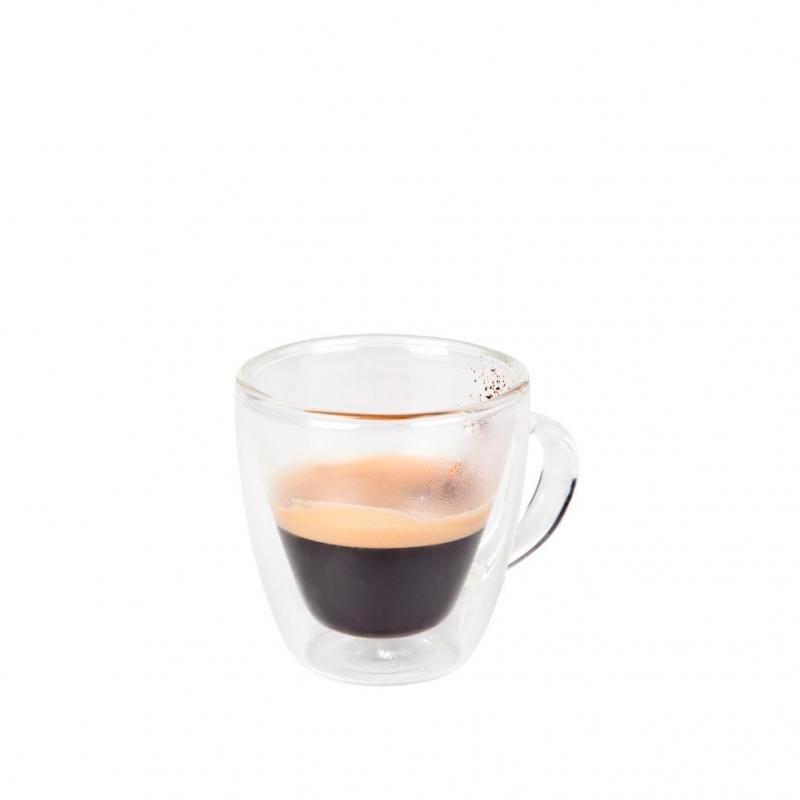 TAZA CAFE BOROSILICATO 8cl. ø6x6,5cm VENUS           24u/c