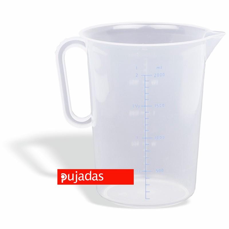 JARRA DE MEDIDAS EN POLIPROPILENO