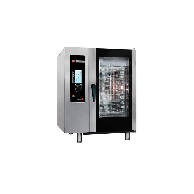 HORNO ELÉCTRICO 10 GN-1/1 - 20 GN-1/2 KW 19,20 MM 898x867x1117