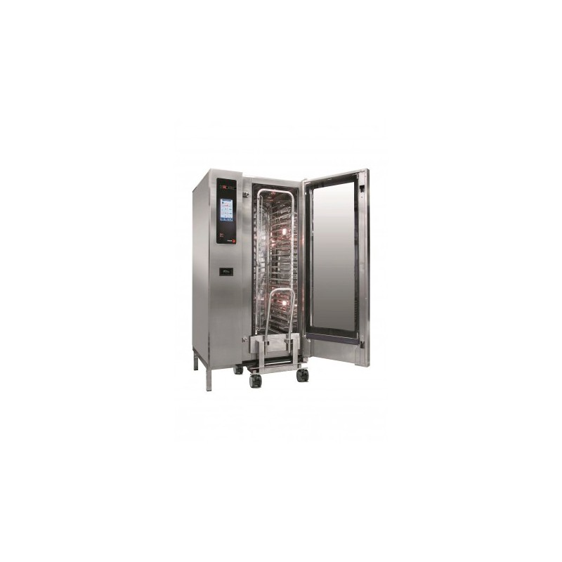 HORNO A GAS 20 GN-1/1 - 40 GN-1/2 KW GAS 36 KW ELECT. 2,40 MM 929x964x1841