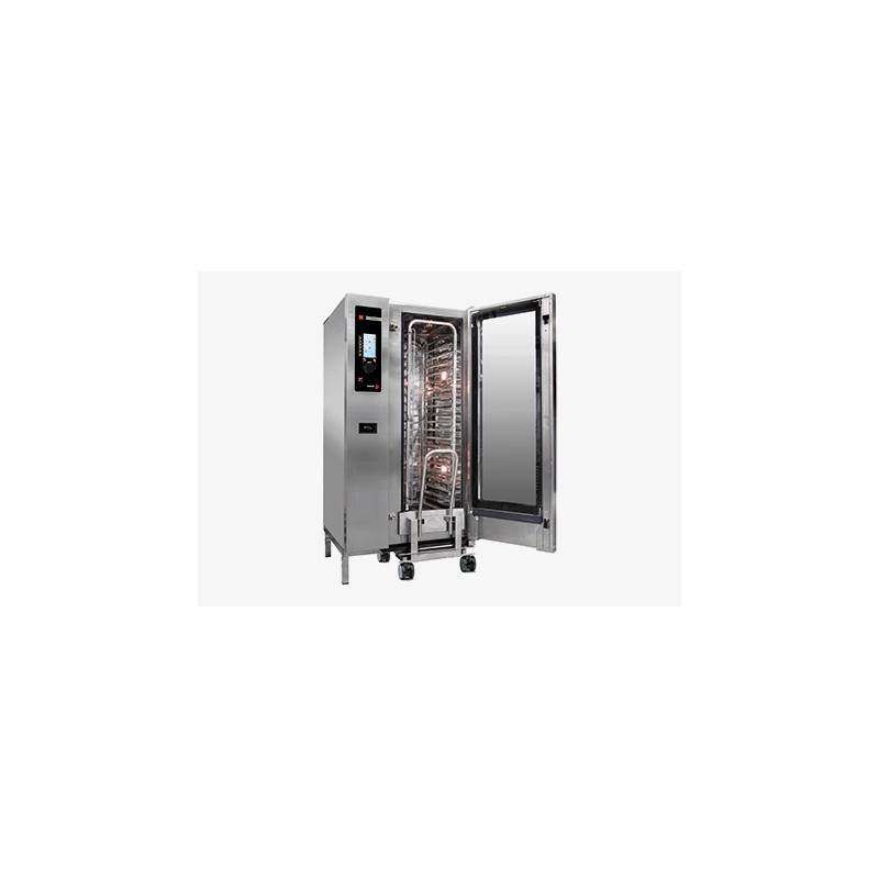 HORNO A GAS 20 GN-2/1 - 40 GN-1/1 KW GAS 65 KW ELECT. 2,40 MM 1162x1074x1841