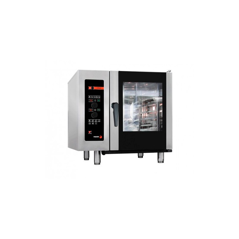 HORNO ELÉCTRICO 6 GN-1/1 - 12 GN-1/2 KW 10,20 MM 898x867x846