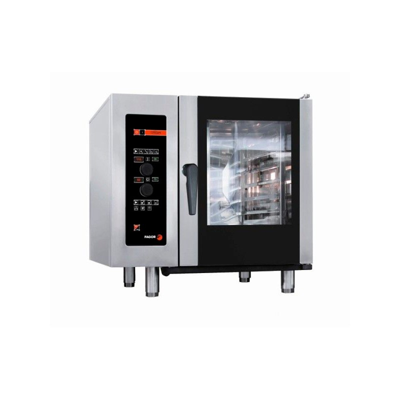 HORNO A GAS 6 GN-1/1 - 12 GN-1/2 KW GAS 12 KW ELECTR. 1,20 MM 898x867x846