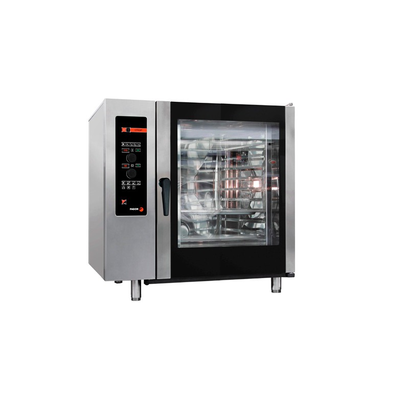 HORNO A GAS 10 GN-2/1 - 20 GN-1/1 KW GAS 35 KW ELECTR. 1,20 MM 1130x1063x1117