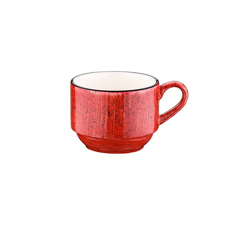 TAZA CAFE 9CL PASSION GOURMET RED                 12u/c