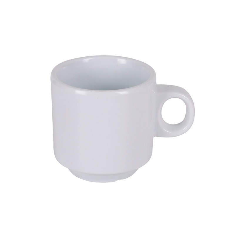 TAZA CAFÉ IRIS BLANCA ø5,5x5,5cm                  24u/c