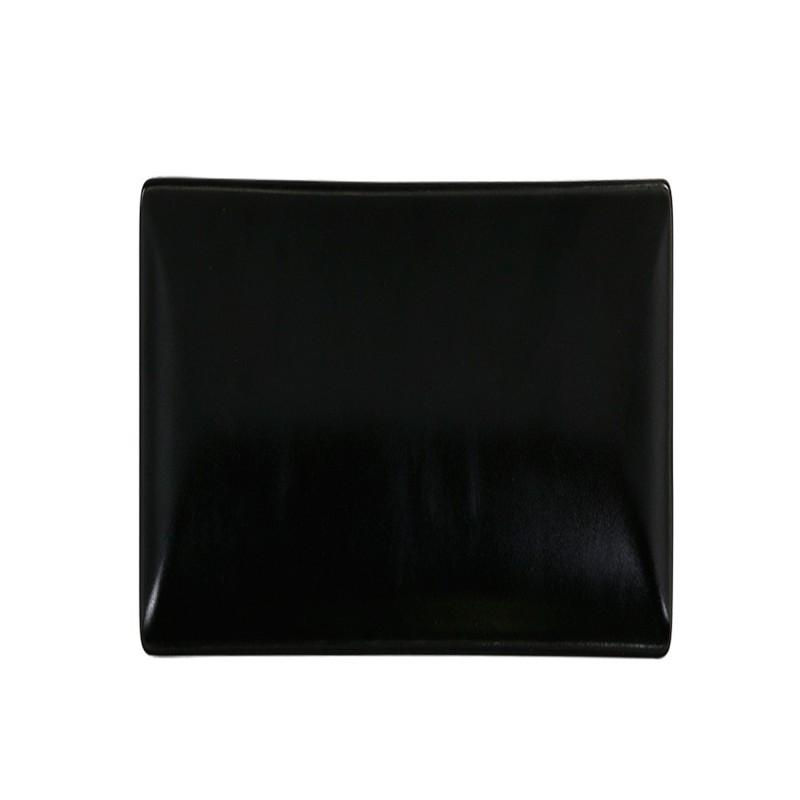 PLATO PAN NEGRO 16x16x2 cm MING II                12u/c