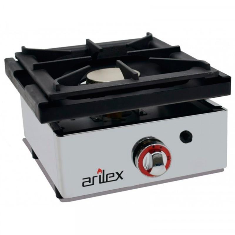 Cocina A Gas De 1 Fuego De 6 Kw Con Medidas 410x457x240h Mm