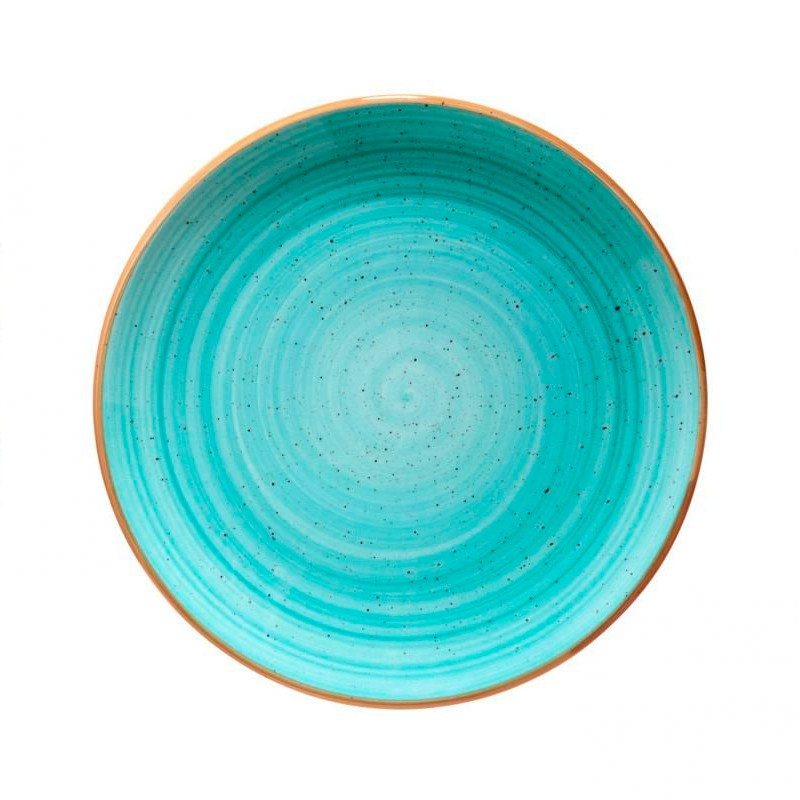 PLATO PAN  ø17CM AQUA /BLUE   GOURMET                     12u/c
