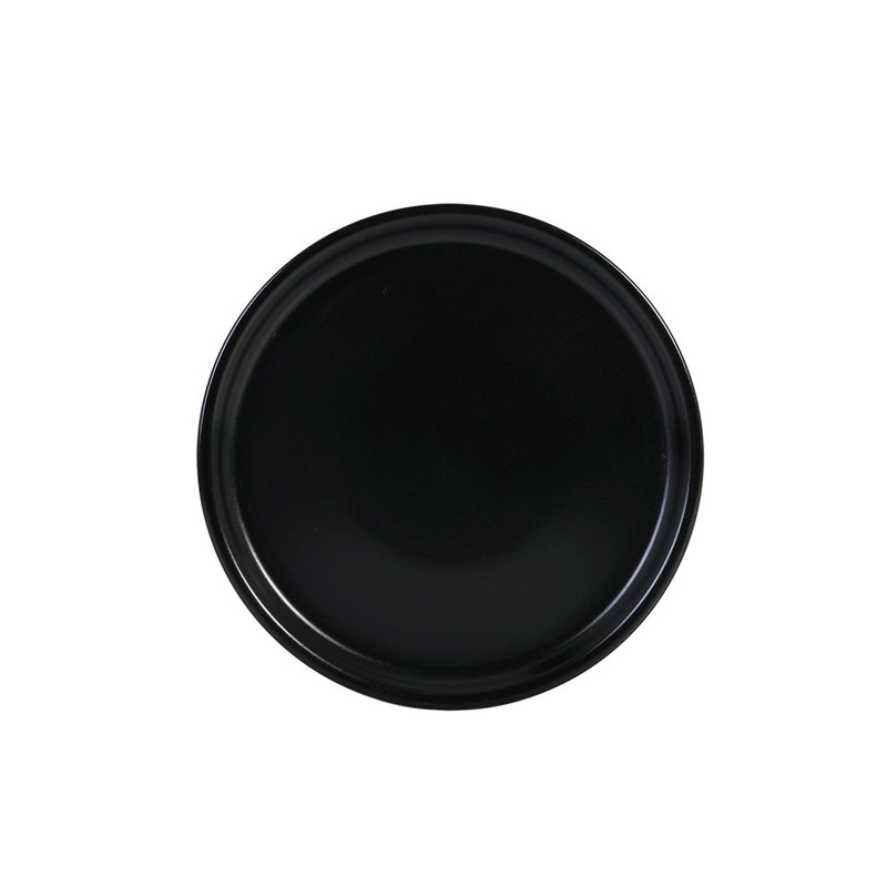 PLATO PIZZA NEGRO THE RESERVE ø30,5x2,5 cm        6u/c
