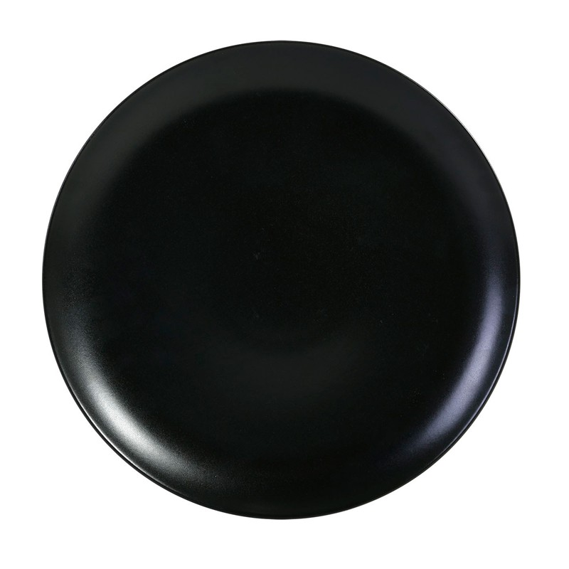 PLATO PRESENTACIÓN NEGRO ø32x2,5cm INFINITY       6u/c