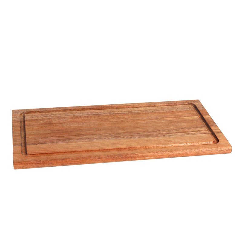 TABLA RECTANGULAR ACACIA 40x20x1,5 cm             6u/c
