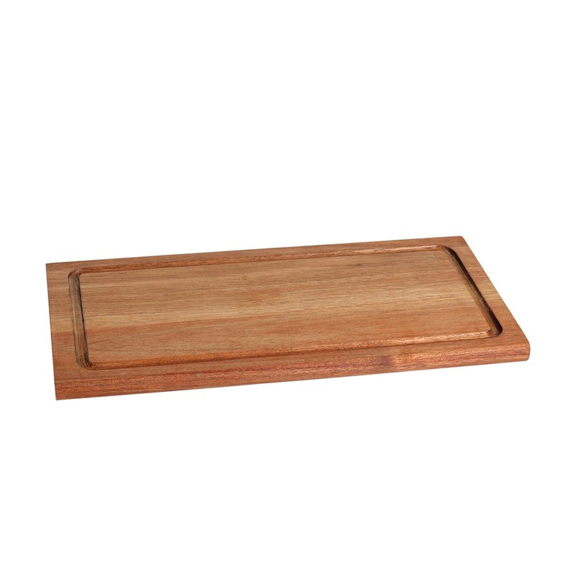 TABLA RECTANGULAR ACACIA 36x18x1,5 cm             6u/c