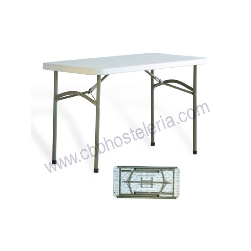 MESA CATARROJA PLEGABLE METAL