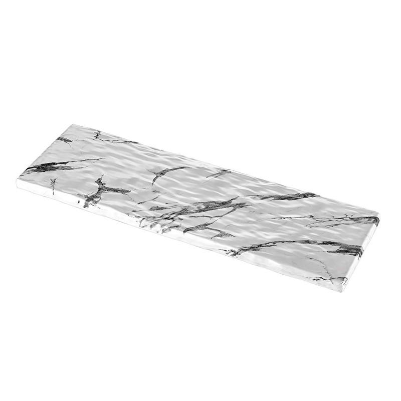 BANDEJA GN2/4 MARMOL BLANCO 53x16,2x1,5cm   4u/c