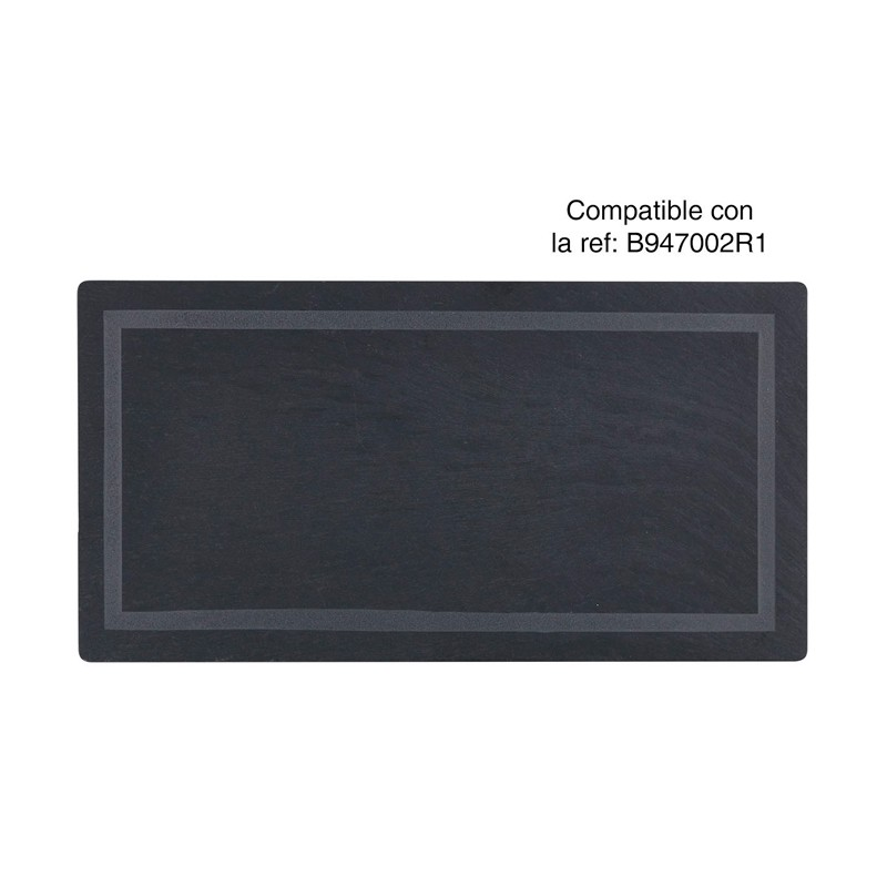 BANDEJA PIZARRA 29x15,5x0,5cm                     12u/c