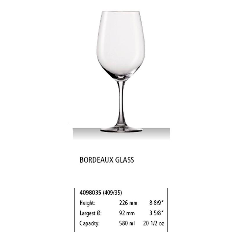 Copa de Burdeos Winelovers 580 ml   12u/c