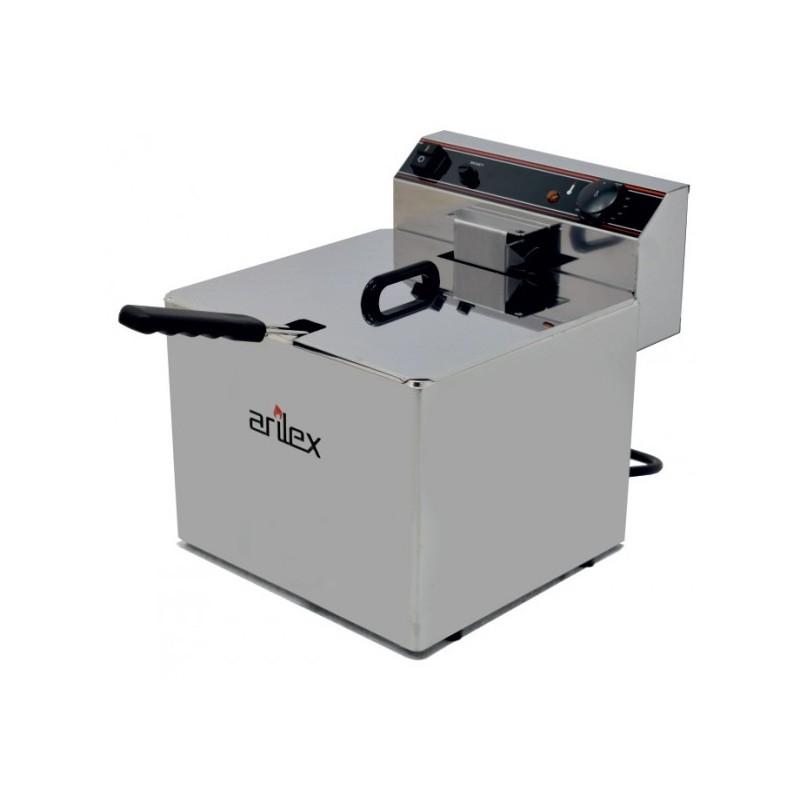Freidora Eléctrica EVOLUTION Sin Grifo Capacidad 12 Litros Con Potencia 4,5 Kw Monofásica Con Contactor