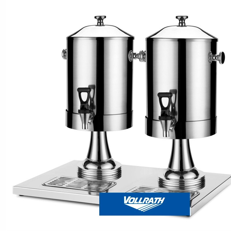 DISPENS LECHE INOX DOBL 8+8 LT